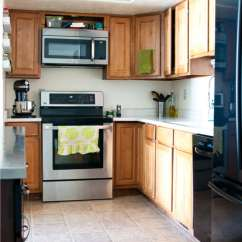 Kitchen Design Budget Inexpensive Flooring Farmhouse Houseful Of Handmade See How We Are Going To Transform Our Outdated With Orangey Oak Cabinets