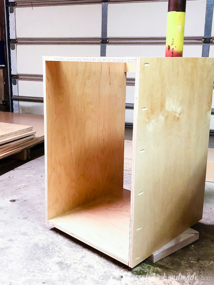 How To Build Your Own Cabinets : build, cabinets, Build, Cabinets, Without, Expensive, Tools, Houseful, Handmade