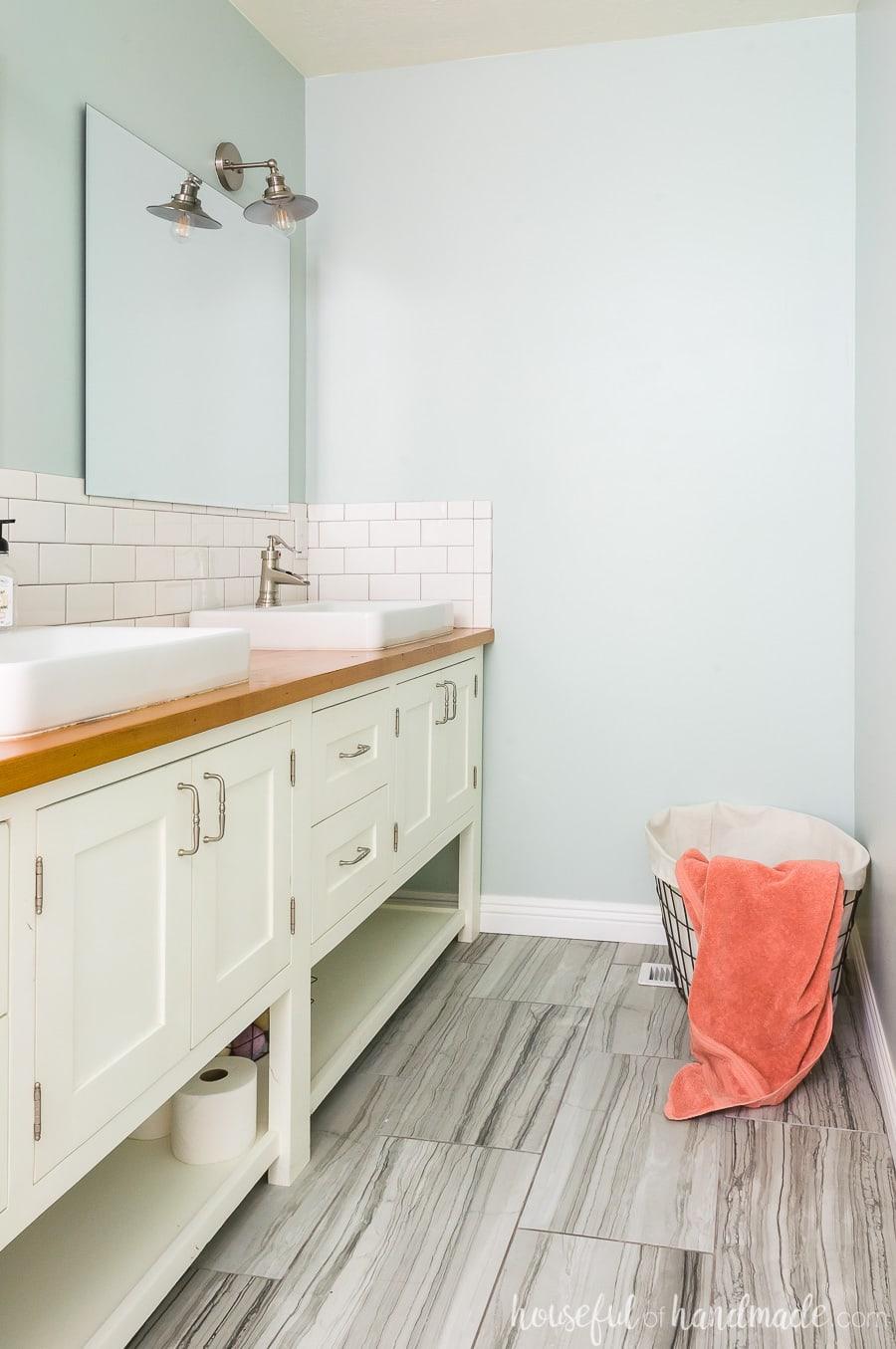 Diy Master Bathroom Retreat Houseful Of Handmade