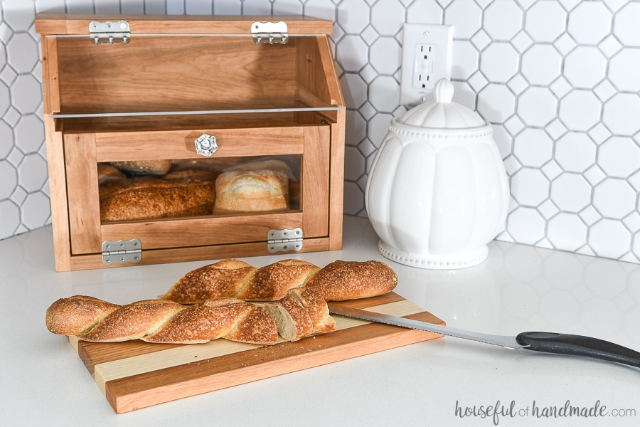 Countertop Bread Box Plans