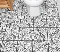 Laying Floor Tiles In A Small Bathroom Houseful Of Handmade