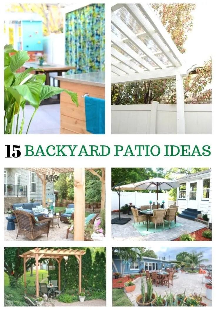15 amazing diy backyard patio ideas on