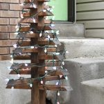 Diy Outdoor Christmas Trees With Lights Houseful Of Handmade