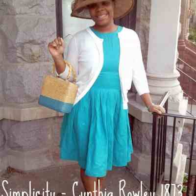 Easter Dressing – Simplicity 1873 Review