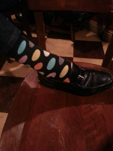 Ted Rubin's Socks