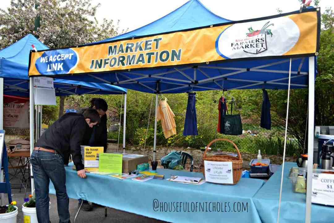 Farmers Market Information