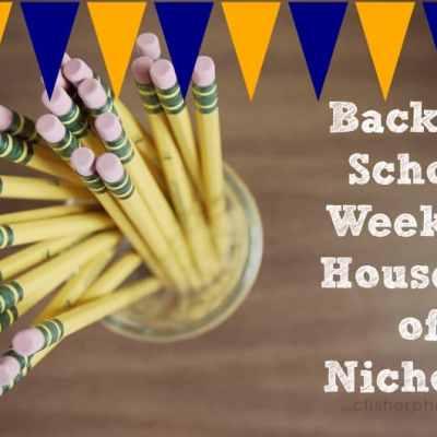 Back To School Week: Houseful Of Nicholes Style