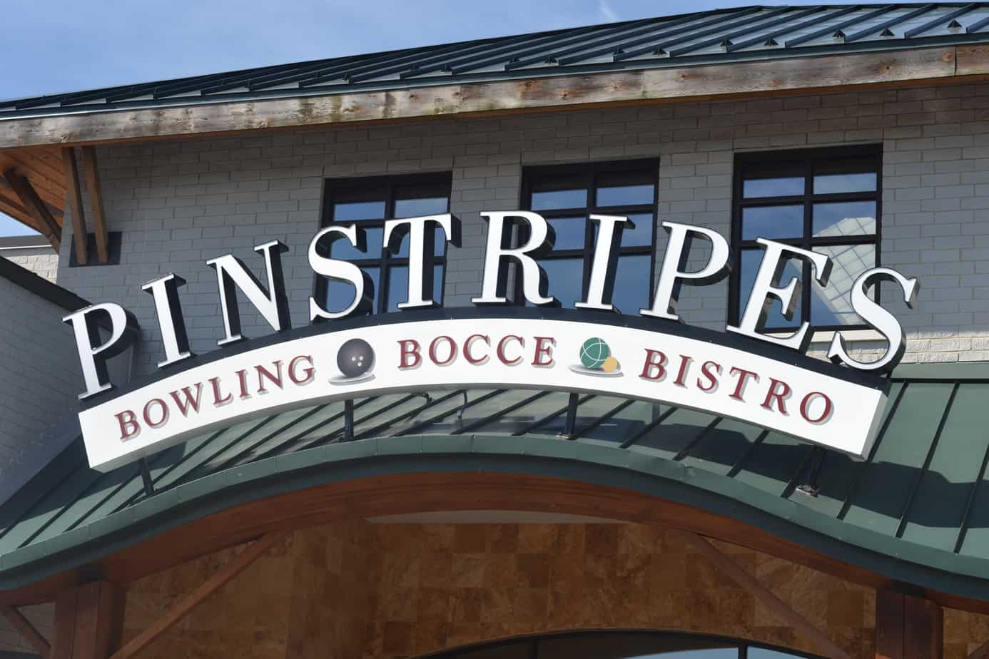 Pinstripes bowling alley provides great family fun!