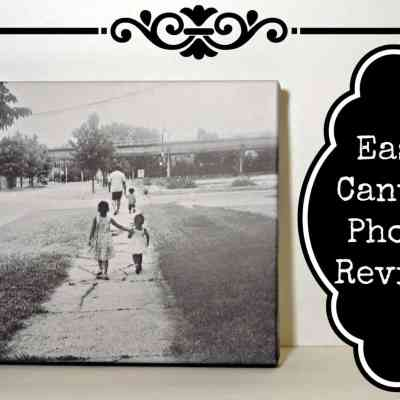 Easy Canvas Photo Review