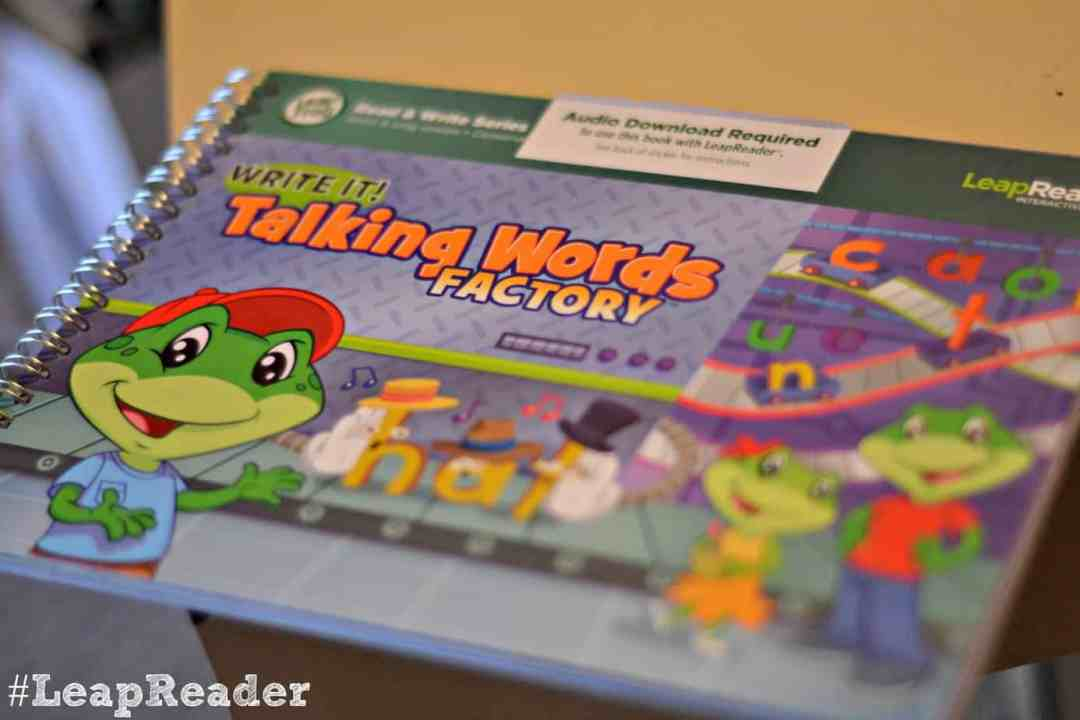 #LeapReader Talking Words Book