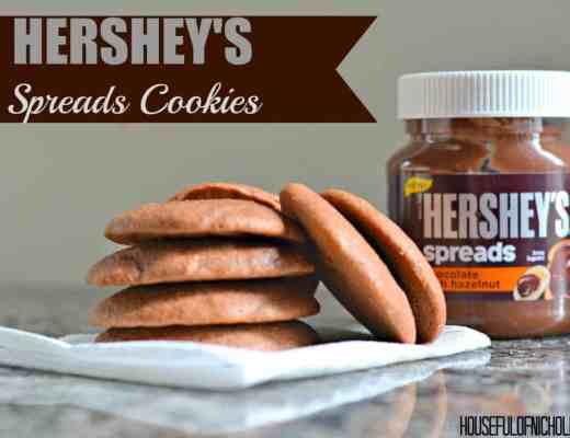 Hershey's Spread Cookies