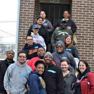 Habitat For Humanity – Another Group Build #thehfbuilds