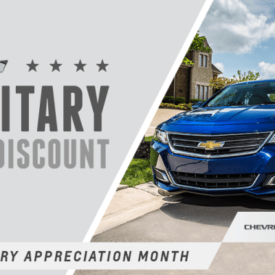 Chevy Celebrates Military Appreciation Month #ChevySalutes