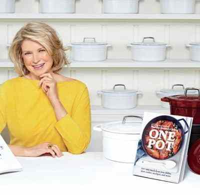 "Martha Stewart Brings ""One Pot"" to Macy's"