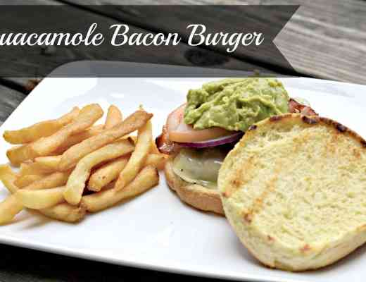 Peakfection Guacamole Bacon Burger