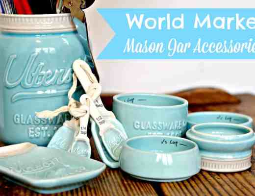 World Market Kitchen Accessories - Vintage Mason Jars