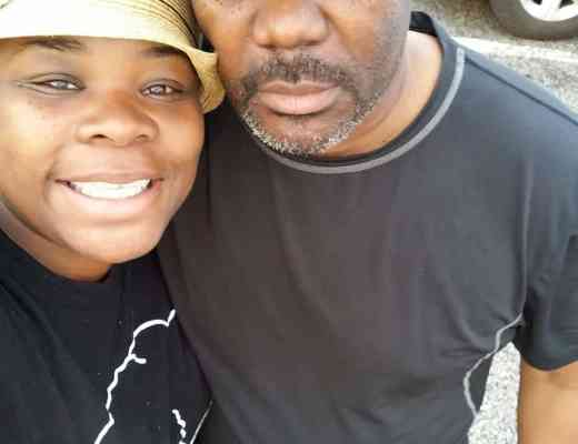 My dad and I on our roadtrip to NYC