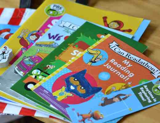 PBS Kids Summer Reading Party Inserts