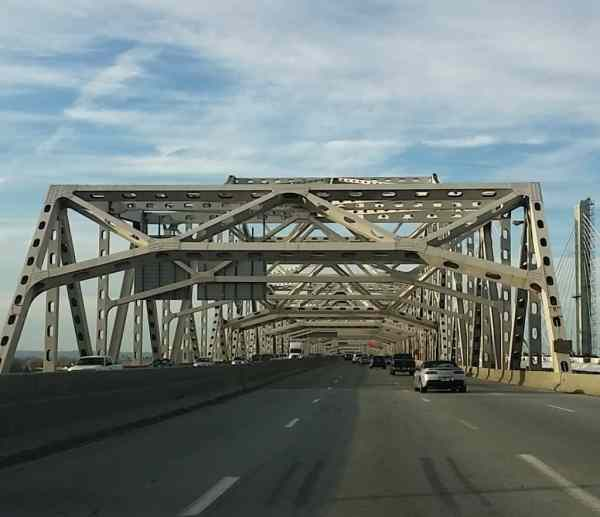 Bridge out of Louisville, Kentucky