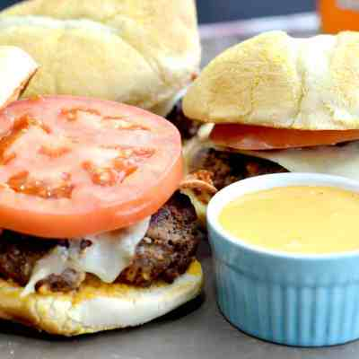 High Kick Chipotle Burgers and Jalapeno Poppers