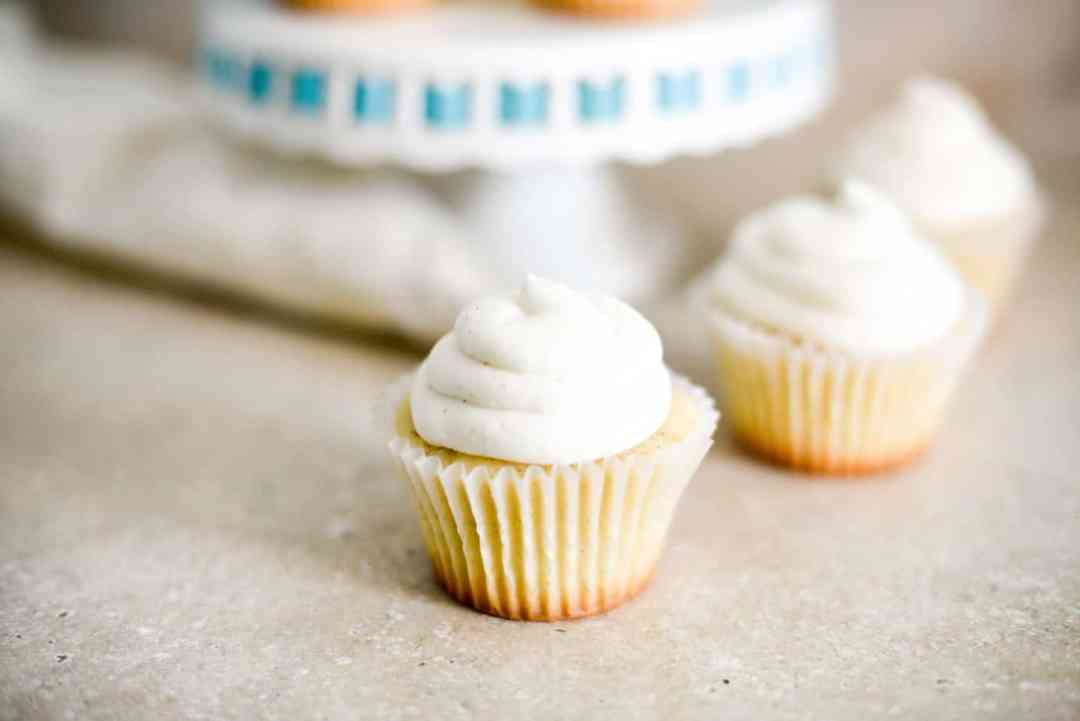 The Best Vanilla Buttermilk Cupcakes