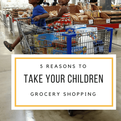 5 Reasons to Grocery Shop with Your Children