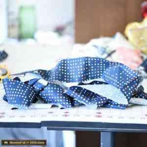 RIbbon Box Quilt Binding