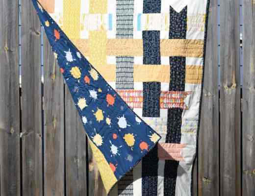 Ribbon Box Quilt