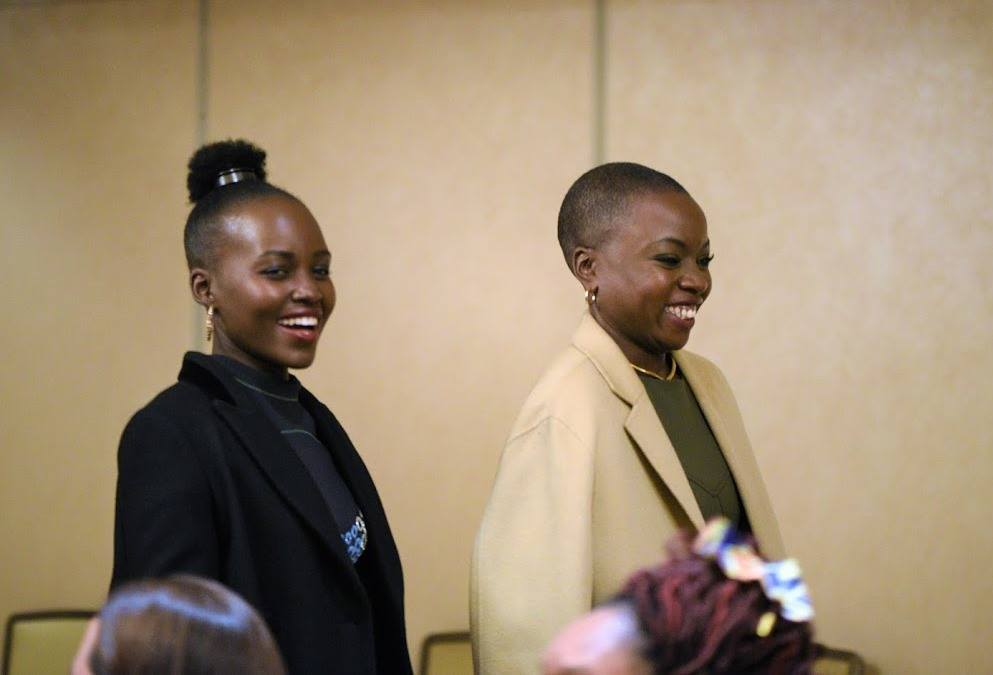 Black Panther's Danai Gurira and Lupita Nyong'o
