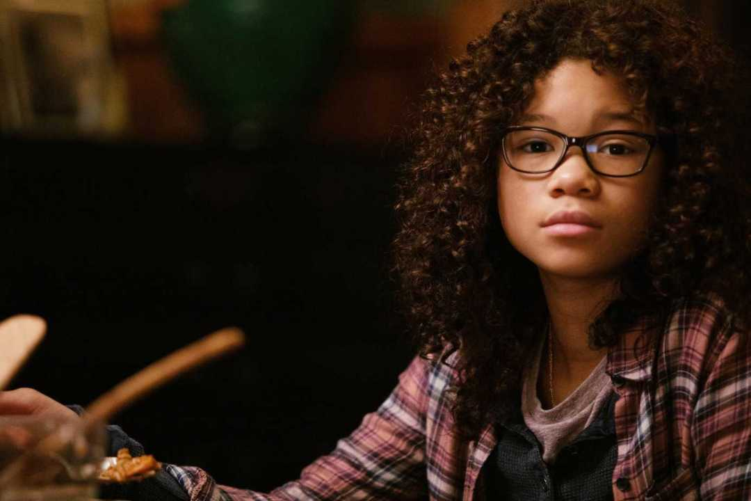 Storm Reid is Meg Murray from A Wrinkle In Time