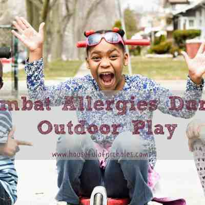 How to Combat Allergies During Outdoor Play