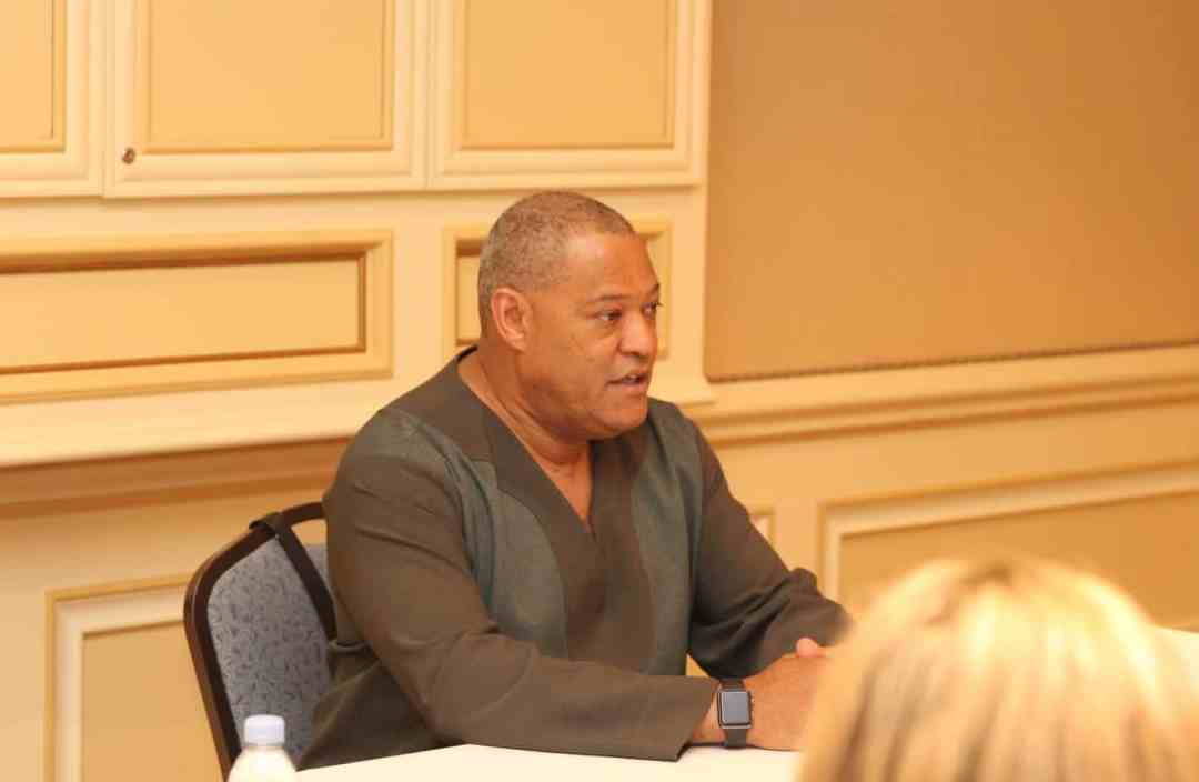 Laurence Fishburne is Dr. Bill Foster