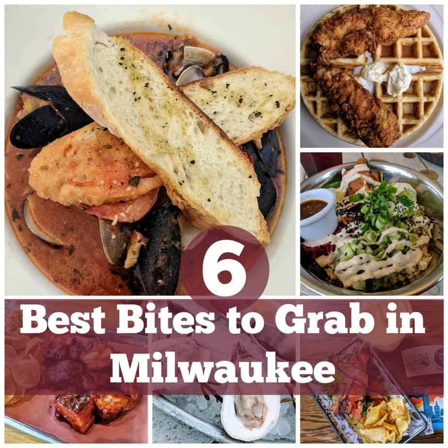 Visiting Milwaukee can be a culinary eye-opener. Check out these 6 spots to get your started. #MilwaukeeWisconsin #foodie