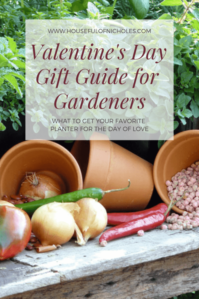 Sow into the heart of your favorite gardener with these gardener gift ideas for Valentine's Day - and they're not even SEEDY!