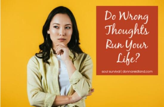 Homestead Blog Hop Feature - Do Wrong Thoughts Run Your Life