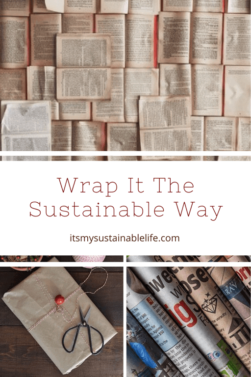 Wrap it the Sustainable Way