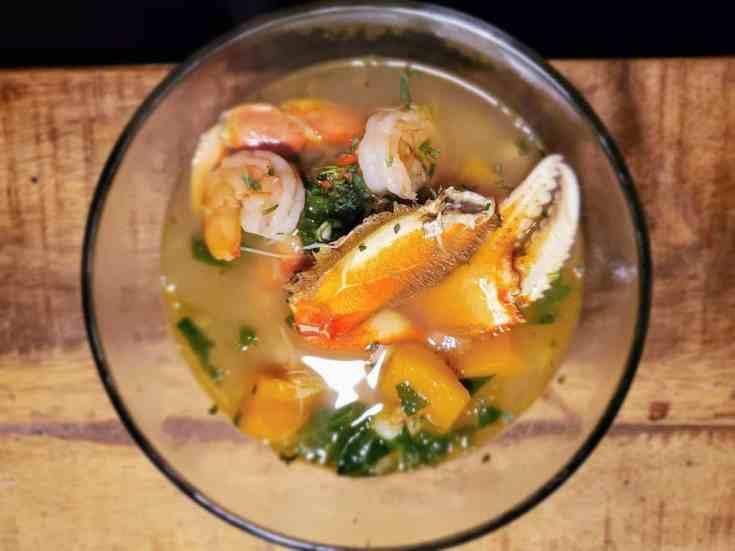 Jonah's Float Seafood Soup
