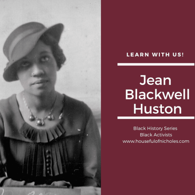 Jean Blackwell Huston – Librarian & Activist