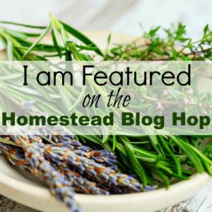 Homestead Blog Hop Featured Badge