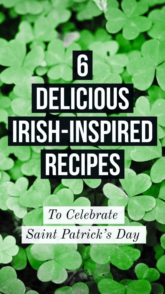 saint Patricks day Irish recipes for your party