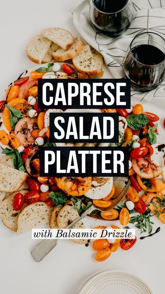 caprese salad platter
