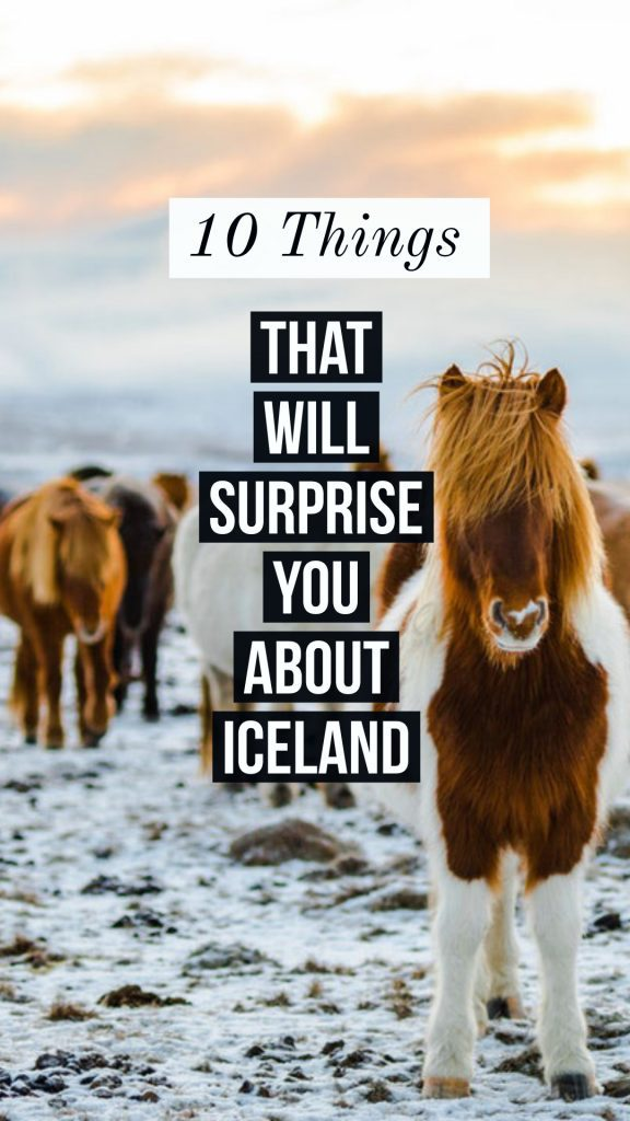 10 things about Iceland that will surprise you