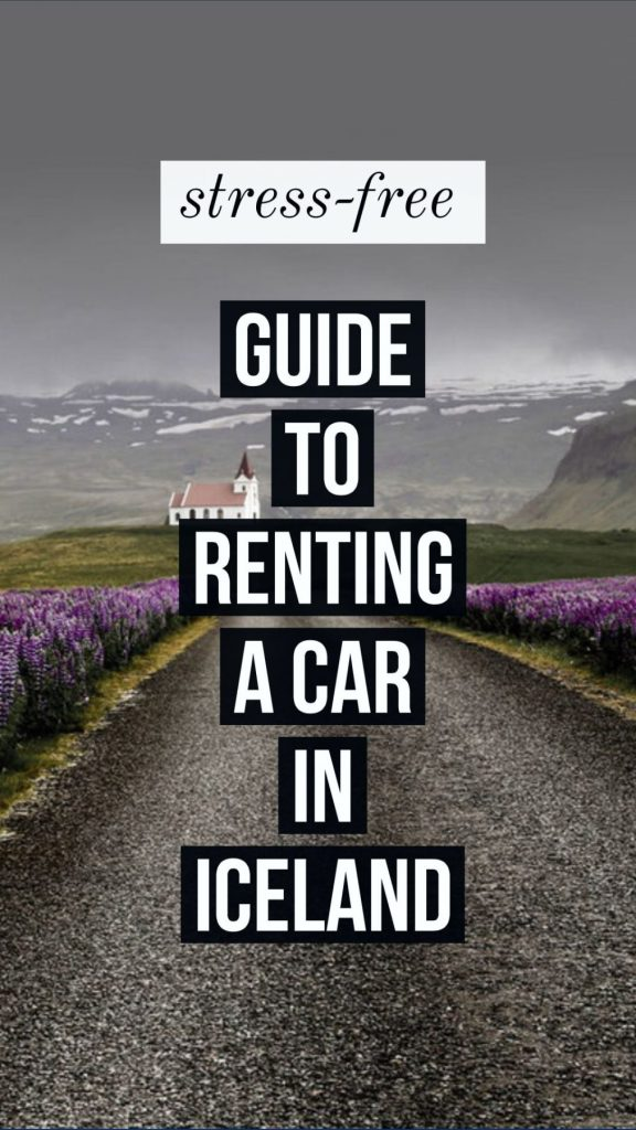 guide to renting a car in iceland