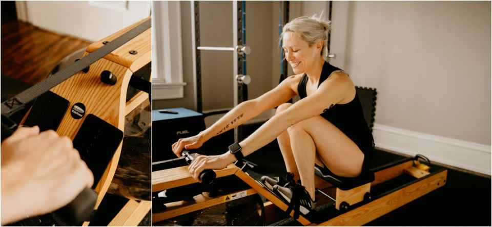 water rowing benefits
