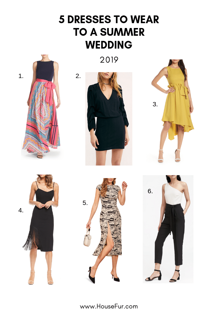 summer dresses to wear to a wedding
