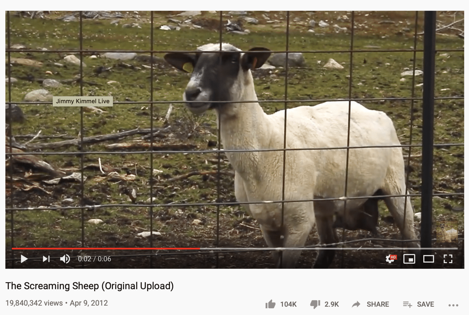 screaming goat YouTube