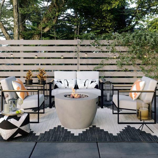 target fire pit outdoor patio
