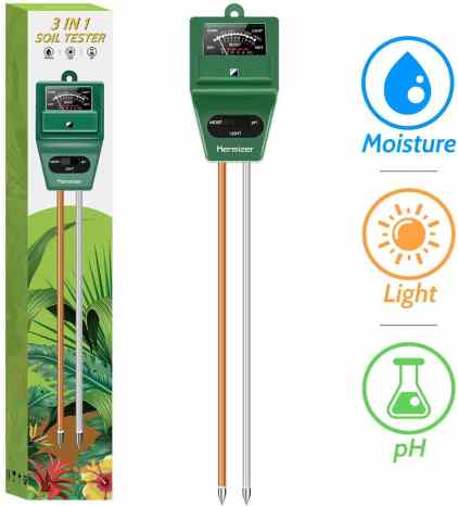 test your soil PH
