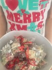 The youngest and I made peppermint bark on Christmas Eve. And I forced a smile when she asked if she could give some of it to SSF - her dad's longtime girlfriend. Being a nice ex-wife has it's challenges.