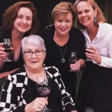 the drinks association's Alana House, Sandra Przibilla, Hope McMurdy and Kathy Sloan.